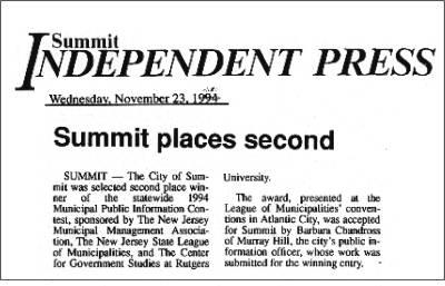 [Independent Press, November 1994]