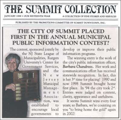 [Summit Collection, January 1999]